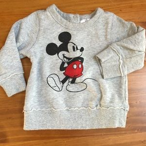 Disney Mickey Mouse 12-18 month sweatshirt